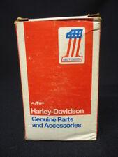ORIGINAL BOX NOS HARLEY DAVIDSON FUEL GAUGE 75026-80 AMF NO 1 DASH CONSOLE Gage