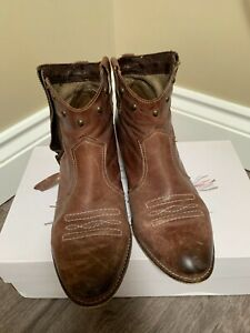 Russell and Bromley ankle boots, brown, size 39 (uk 6)