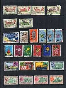 Stamps collection M & MH & U Ethiopia Abyssinia  2 pages  #418