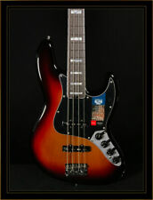 Fender American Elite Jazz Bass in 3-Color Sunburst with Ebony Fretboard