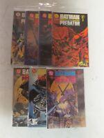 DC Comics Batman versus Predator #1,1b,1c,2,2b,3,3b Run Lot Set of 7