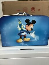 Disney Vacation Club Dvc Cruise Line Member Blue Mickey Mouse Suitcase Briefcase
