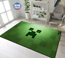 Rug For Living Room, Game Room - Minecraft Gamer Nice Style Carpet, Gift Decor