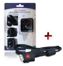 SAMSUNG DIGIMAX NV18 / NV20 / P83 DIGITAL CAMERA USB CABLE + BATTERY CHARGER