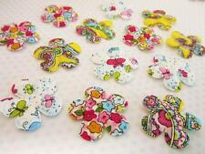 60 Colorful New Spring Cotton Bright Floral Print Fabric Flower Applique H574