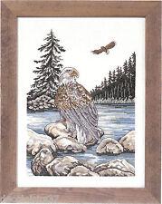 Permin  90-2170  Aigle  Broderie  Point de croix compté  toile Aïda