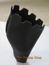 Accoppiamenti MERCEDES W210 S210 W202 S202 automatico pelle nera copertura per pomello del cambio