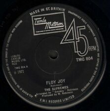 """THE SUPREMES floy joy/this is the story TMG 804 uk motown 1971 7"""" WS VG/"""