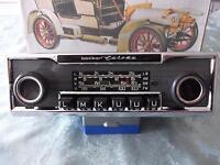 Oldtimerradio Becker Europa Nadelstreifen W113 Pagode W123 W108 W114-5