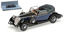 Minichamps 436012036 - horch 853a cabriolet – 1938 – nero / BLU L.E.336 PS