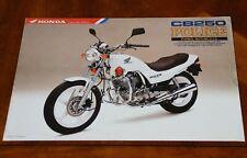 Honda CB250P Police (Nighthawk) sales leaflet Prospekt, 1982>