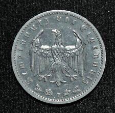 1937-F Germany: Third Reich, 1 Reichsmark