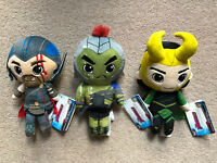Marvel AVENGERS THOR, HULK & LOKI Collectable Plush Set Funko Action Figure
