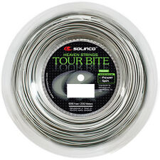 Solinco Tour Bite 17G 1.20mm (silver) 660ft 200m Tennis String Reel