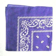 Paisley Bandana Head wrap Cotton Head Wrap Neck Scarf Wristband Handkerchief NEW
