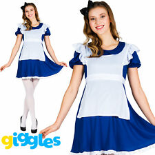 Adult Alice Costume Womens World Book Day Week Day Storybook Fancy Dress Outfit