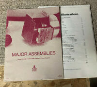original Atari Major Assemblies Pages Loose Arcade Game manual