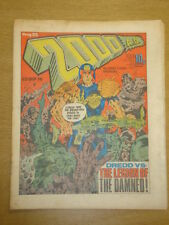 2000AD #83 BRITISH WEEKLY COMIC JUDGE DREDD *