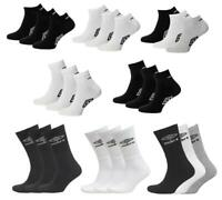 New 3pr / 6pr  Umbro Mens Trainer Liner Ankle Quarter Crew Socks UK 6-11