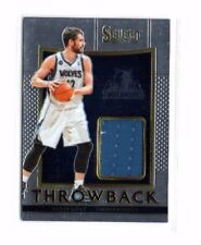 Kevin Love 2015-16 Panini Select, Throwback, (Materials), /149 !!