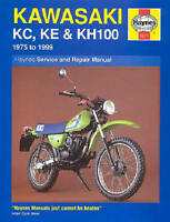 1975-1999 Kawasaki KE 100 KE100 HAYNES REPAIR MANUAL 1371