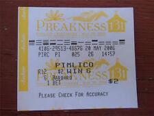 BARBARO $2 WIN TOTE TICKET 2006 PREAKNESS STAKES HORSE RACE ORIGINAL