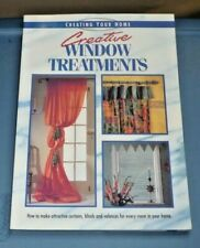 Creating Your Home: Creative Window Treatments by Eaglemoss Editors (1996, Paper