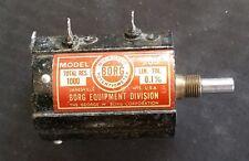 1K Ohm 0.25% Linear Precision 10 Turn Wire Wound Potentiometer - Borg