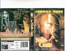 The Ninth Gate-1990-Johnny Depp-Movie-DVD