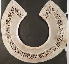 Vintage Collar Venise Lace on Nylon Displayed on Original Store Paper A Beauty