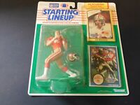 Joe Montana SAN FRANCISCO 49ERS 1990 Starting Lineup NFL football figure