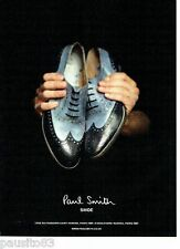 PUBLICITE ADVERTISING 116  2011  Paul Smith  shoes  chaussures homme