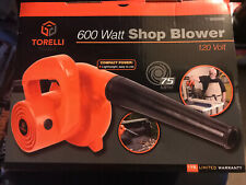 600 Watt Compact Shop Blower Vacuum Vac by Torelli Tools Air Duster BRAND NEW!!!