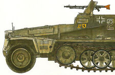 SdKfz 250 Wwii German Armored Personnel Carrier Half Track Ground Power Special