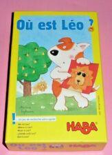HABA Jeu - Où est Léo? - Where is Leo ? Wo ist Leo? Jeu de carte de rapidité