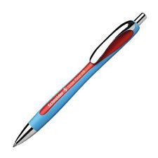 Schneider Slider Rave Retractable Viscoglide Ballpoint Pen, Red XB