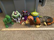 Disney Pixar Toy Story Buzz Zurg Alien Slinky Dog Rex forky Toy Lot Figures