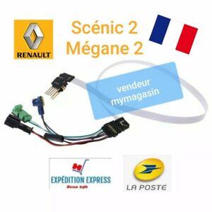Câble 7 pins + connecteurs, contacteur tournant airbag Renault MEGANE 2 SCENIC 2