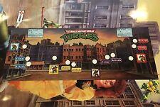 Teenage Mutant Ninja Turtles Arcade Control Panel Overlay CPO Decal TMNT Konami