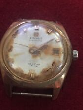 Rare Vintage Watch Mechanical Tissot T 12 Seastar Visodate For Spares Or Repair