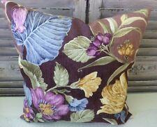 "Floral Square Decorative Cushions & Pillows 17x17"" Size"