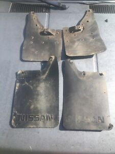 87-97 Nissan Hardbody D21 2WD Pickup Truck Mud Flaps Splash Guards