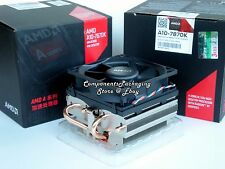 AMD A10-7870K Heatsink CPU Cooler Fan Near Silent Thermal Solution (No CPU) New