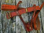 British Army Officers WW1 1918 Dated Leather Sam Browne Belt & Sword Frog