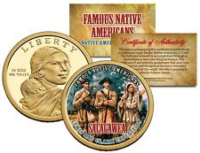 SACAGAWEA Famous Native American $1 Dollar US Coin LEWIS CLARK EXPEDITION Indian