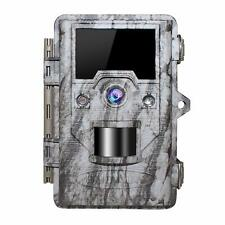 OUDMON Trail Game Camera 16MP 1080p 30fps FHD IP67 Waterproof Wildlife Hunting
