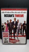 Oceans Twelve DVD George Clooney, Brad Pitt, Julia Roberts, Catherine Zeta-Jone