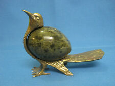 Bird. Collectible Bronze Statuette Figurine.