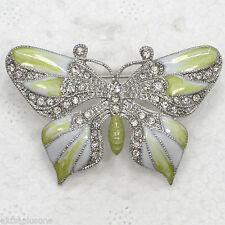 Butterfly Rhinestone Alloy Costume Jewellery