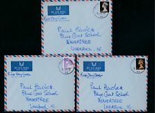 GB 1967 MACHINS FDCs FORCES POST OFFICE 4d 1/- 1/9...3 ITEMS